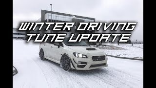 Tune Update Driving in -10°C Winter | Random Vlog