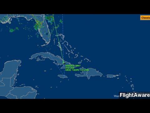 Unresponsive Plane Crashes Off The Coast Of Jamaica