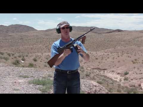 Bridgeport Thompson Submachine Gun Demo