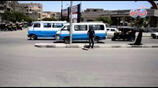 شاهد مكان استشهاد 8 من عناصر الشرطة فجرا بحلوان
