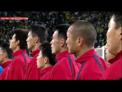 North Korea National Anthem 2010 World Cup