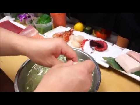 A Special Sashimi Plate - How To Make Sushi Series