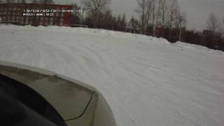 Kia Soul ice driving 2