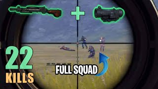 YOU WILL LOVE DP-28 AFTER THIS | 22 KILLS | SOLO SQUAD | PUBG MOBILE
