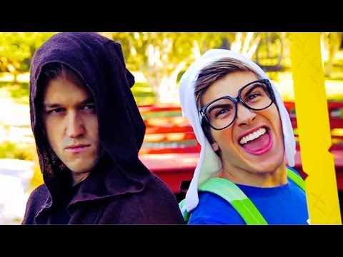 KISS YOU - ONE DIRECTION (MUSIC VIDEO COVER) JOEY GRACEFFA & LUKE CONARD