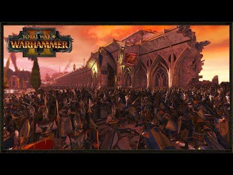 The Vampire Coast vs. Blessed Lizardmen of Lustria! - Total War Warhammer 2 Battle Gameplay