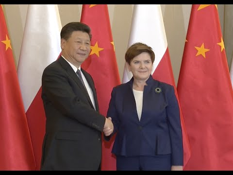 Chinese President Meets Polish Prime Minister on Bilateral Relations