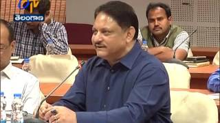 S. P. Singh Holds Review Meet With Collectors over Haritha Haram