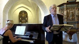 """Schubert, """"Die Winterreise"""" - Stig Fogh Andersen & Kristine Thorup, Græsted 2018 - Subtitles DE/EN"""