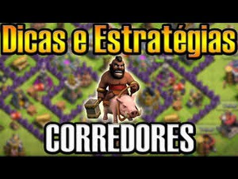 Clash of Clans - Como atacar de corredor na guerra (Hog) CV8/TH8
