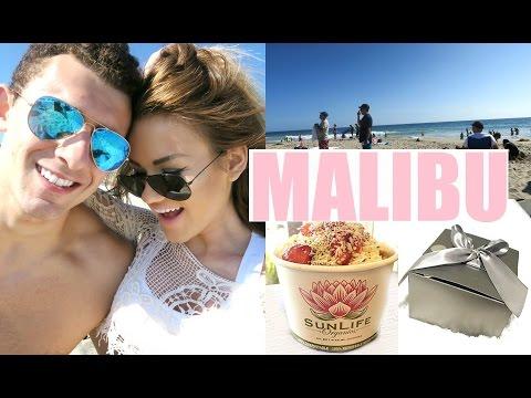 MALIBU, MEETING A SUBSCRIBER, & SHOPPING IN SANTA MONICA! | DailyPolina