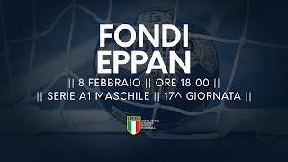 Serie A1M [17^]: Fondi - Eppan 25-23