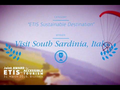 Visit South Sardinia premio quale migliore destinazione sostenibile europea 2016