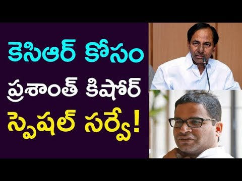 Prasanth Kishore Is Doing Special Survey To KCR... ! || Taja30