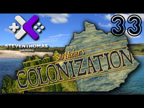 SKS Plays Colonization Gameplay:  Custom House Hoes!  [Episode 33]