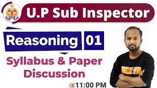 Class-01 || UPSI || Reasoning || By Pulkit Sir || Syllabus & Paper Discussion