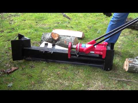 Harbor Freight 10 ton manual log splitter review