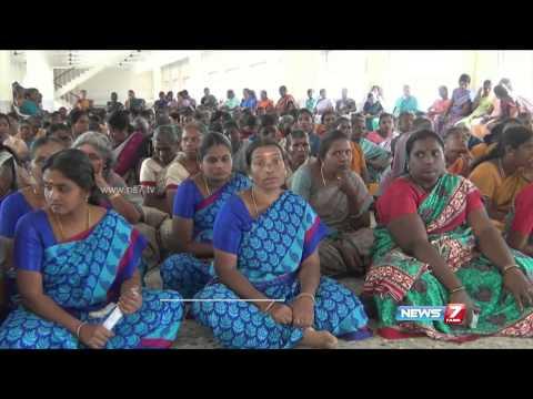 Awareness programme to reduce plastics held for women SHGs in Mettupalayam