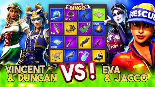 FORTNITE BINGO XL 2v2 met DUNCAN!! - Fortnite Playground (Nederlands)