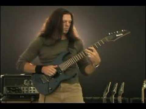 Chris Broderick (Megadeth/Jag Panzer) - jazz-slap demo