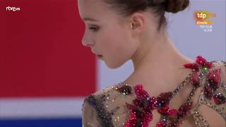 Anna SHCHERBAKOVA. GP China 2019, SP