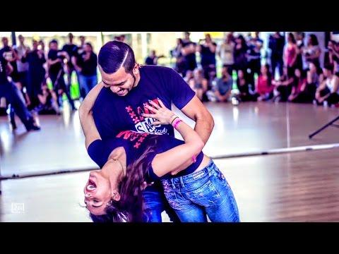 Carlos & Mirella - Amsterdam Brazilian Dance Festival 2017 - Samba de Gafieira - Demonstration