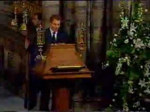 Princess Diana's Funeral Part 16: Tony Blair and Elton John