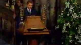 download lagu Princess Diana's Funeral Part 16: Tony Blair And Elton gratis