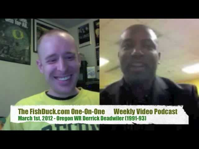 FishDuck One-on-One: Derrick Deadwiler (Oregon WR 1991-93)