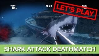 Let's Play: Shark Attack Deathmatch Gameplay - Xbox 360 Indie Game