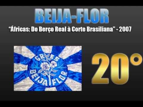 TOP 20 SAMBAS ENREDO 2000-2013