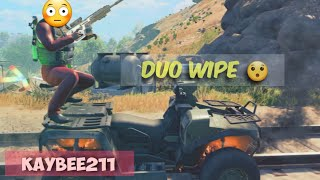 Duo Wipe | BlackOut Duos