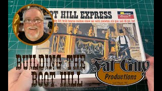Building the Classic, Monogram model kit - The Boot Hill Express!