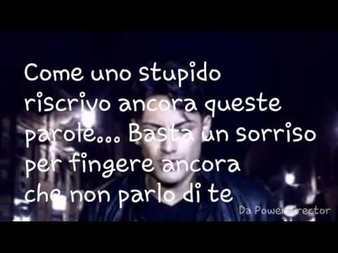 Daniele De Martino - Io senza te (testo)
