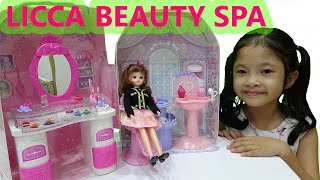 Licca Hair Salon - Búp Bê Licca Đi Làm Đẹp Ở Tiệm Cắt Tóc - Nhà Phụ Kiện Búp Bê Licca