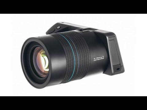 Lytro Illum Light Field Digital Camera: Product Overview with Martin Dorey