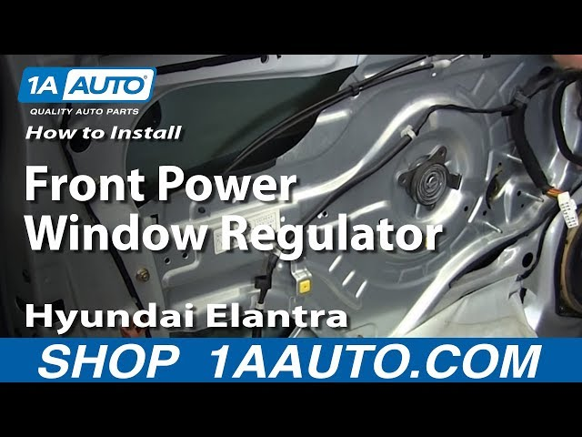 How To Install Replace Front Power Window ... - YouTube