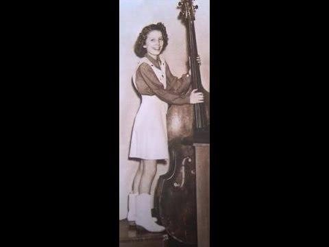 Anita Carter plays bass with Chet Atkins