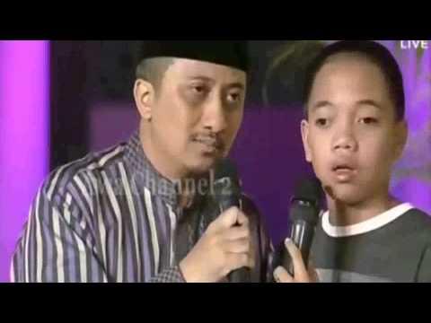Fajar Anak Cacat Umur 4 5 Tahun Hafal Qur'an 30 Juz