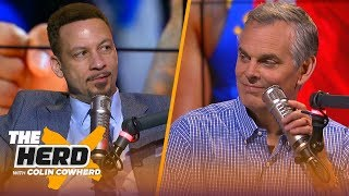 Kyrie & KD would be a 'great tandem' in NY, defends James Harden — Chris Broussard | NBA | THE HERD