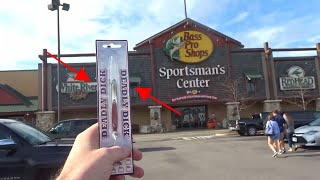Funniest Fishing Lure at Bass Pro Shops!!