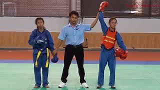 Đối Kháng Nữ  VOVINAM Việt Võ Đạo Giải Vô Địch Các CLB Tỉnh QB 2017- Vovinam Martial Art