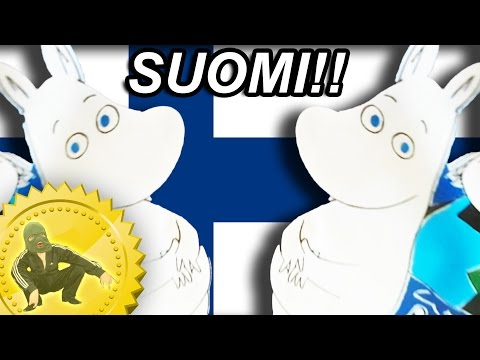WHITE FINNISH SMURFS - Country review with Boris