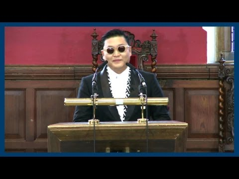 PSY | Address Highlights | Oxford Union