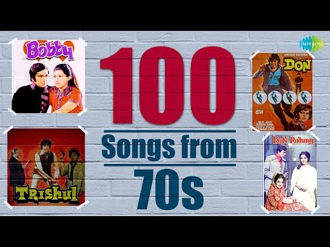 Top 100 Songs From 70s  70s के हिट गाने  HD Songs  One Stop Jukebox  HD Songs