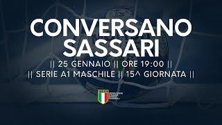 Serie A1M [15^]: Conversano - Sassari 19-18
