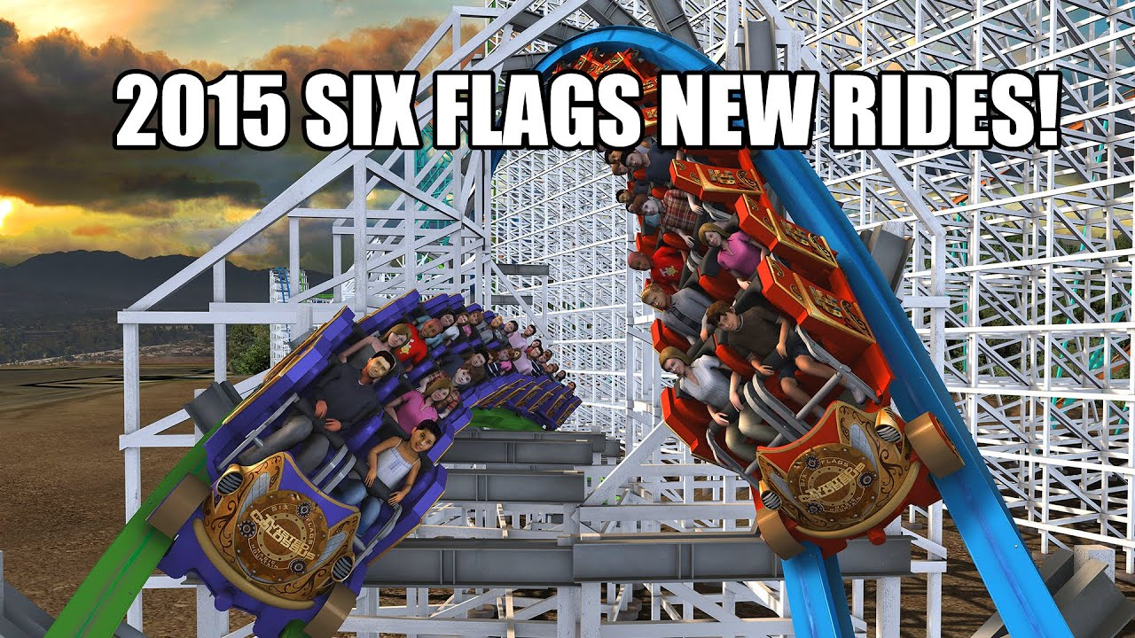 New Rides For Six Flags Theme