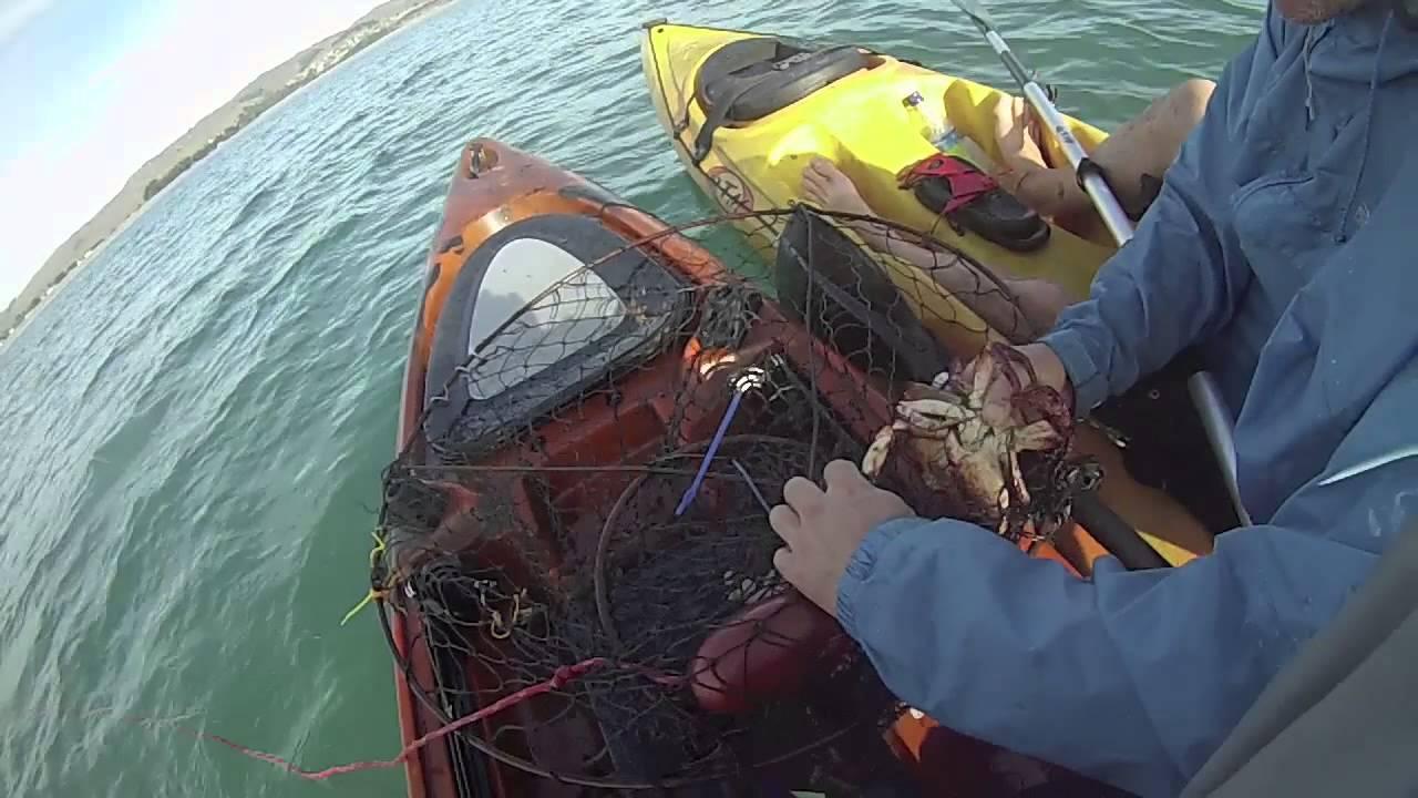 Kayak fishing crab fishing doran beach bodega bay for Bodega bay fishing reports