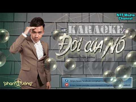 Đời Của Nó Karaoke -  Phạm Trưởng (4k lyrics) thumbnail