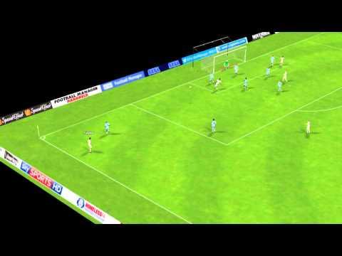 Swansea vs Man City - Gomis Goal 56 minutes